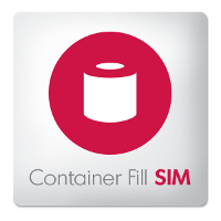 Container Fill SIM App logo